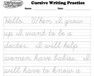 The Cursive Question