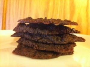 Gluten-free, Vegan Peppermint Cocoa Cookies