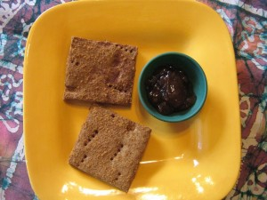 Gluten-free, Vegan Graham Crackers