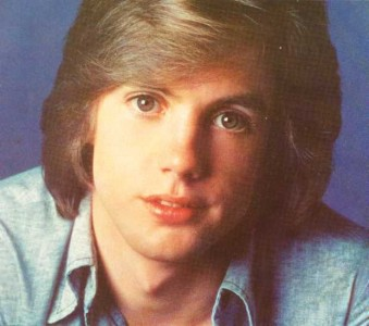 Shaun Cassidy and his perfectly feathered hair