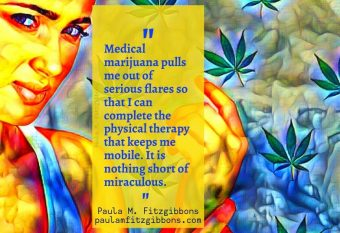Medical Marijuana Manages My Chronic Illness (And Makes Me A Better Mom) [Scary Mommy]